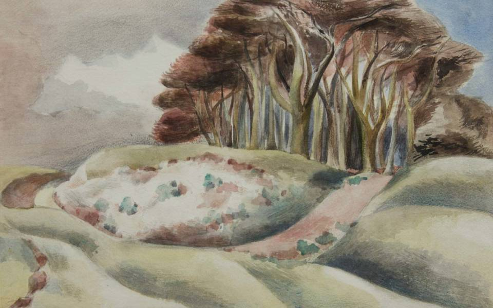 Paul Nash, Wittenham (1935)