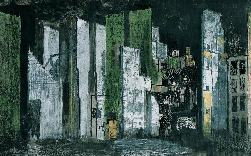 Graham Sutherland, Devastation 1941: City Panorama (1941)