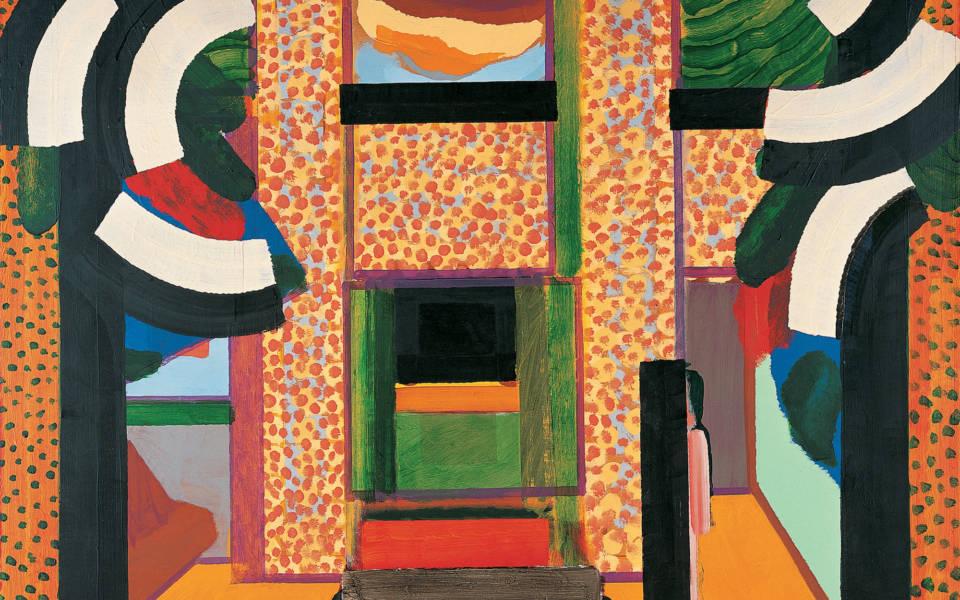 Howard Hodgkin, Grantchester Road (1975)