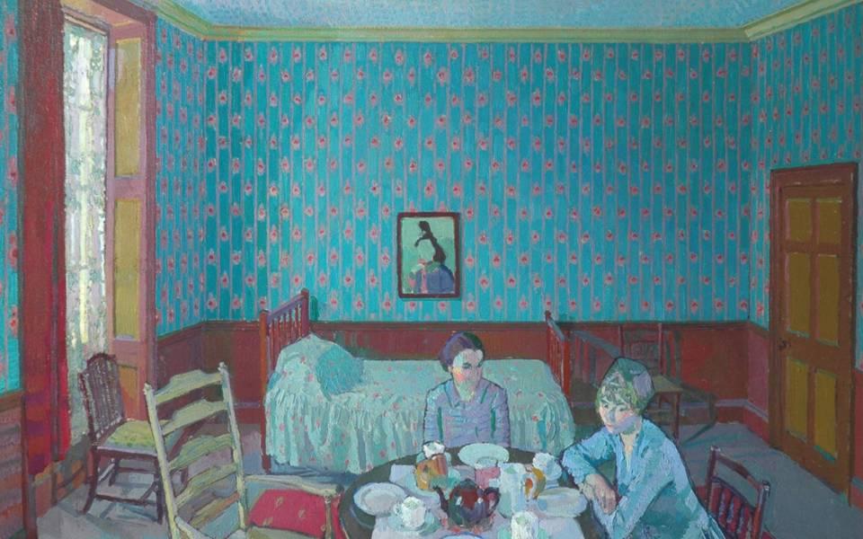 Harold Gilman, Tea in the Bedsitter, 1916