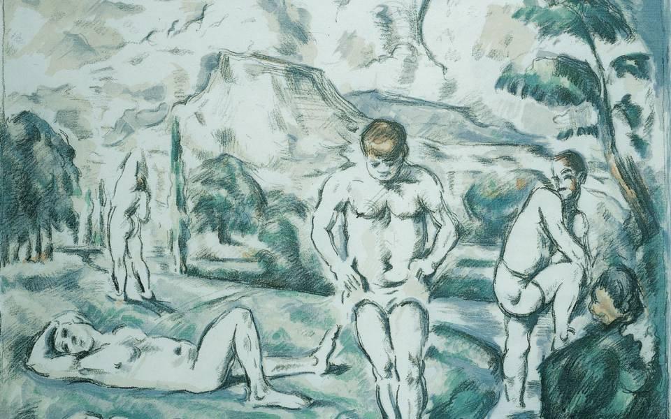Paul Cèzanne, Les Grands Baigneurs (The Large Bathers) (1898)