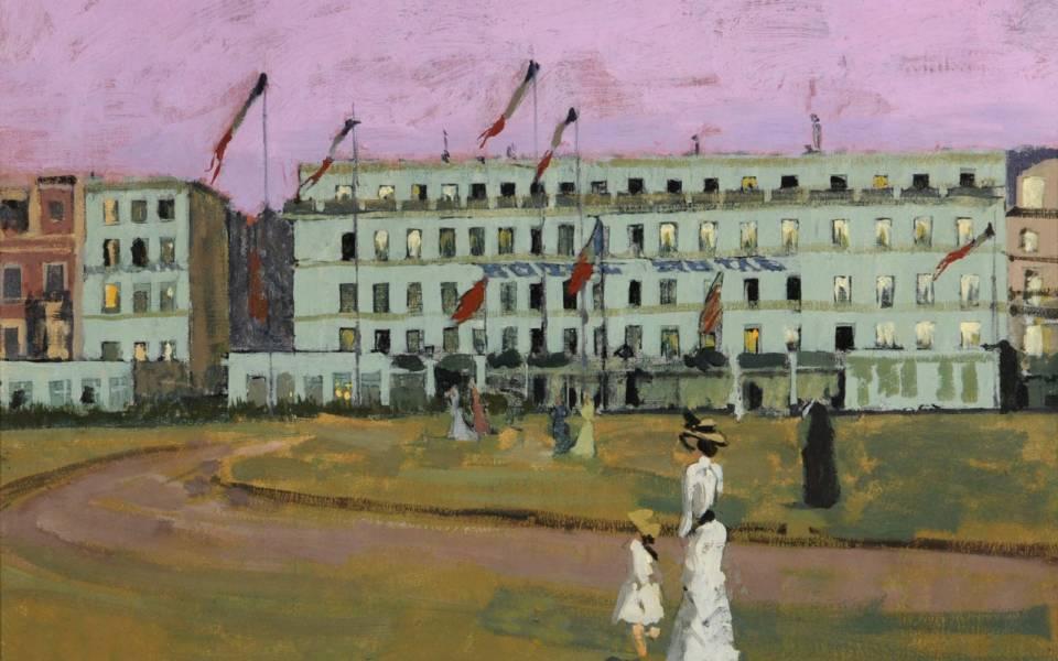 Walter Sickert, L'Hotel Royal, Dieppe (1854)