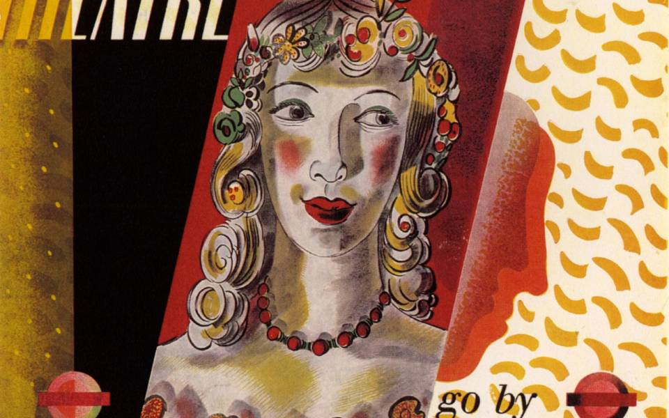 Barnett Freedman, London Transport poster (1936)