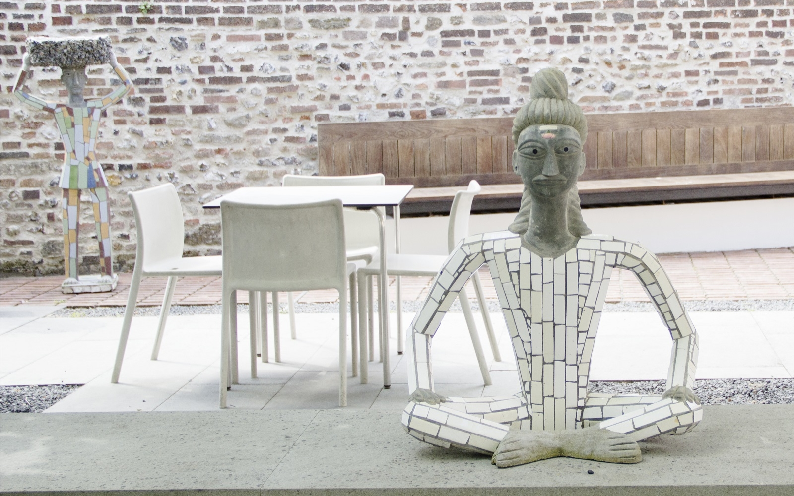 Nek Chand at Pallant House Gallery Photograph Oana Damir