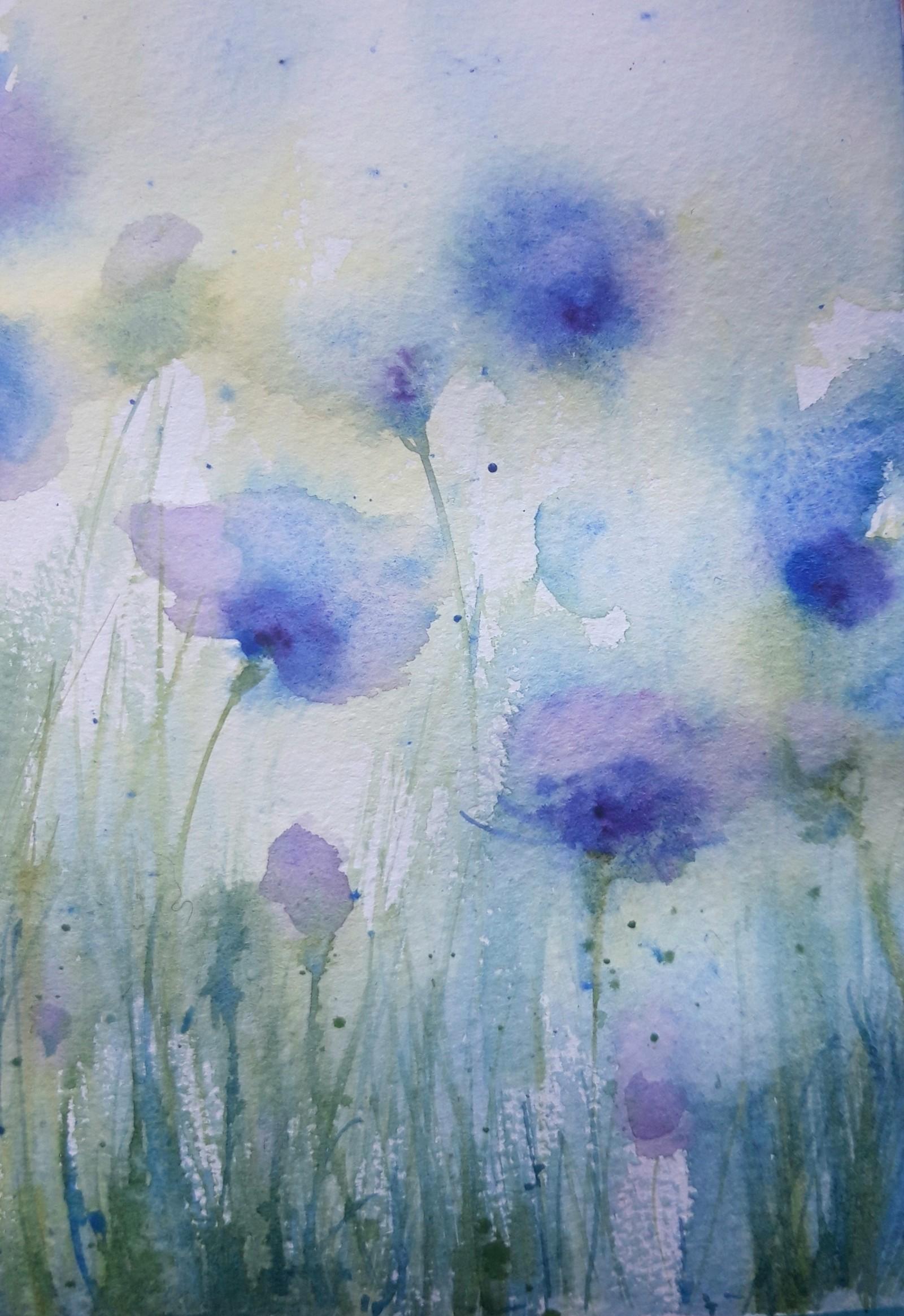 Jo Dowers, Cornflowers 1