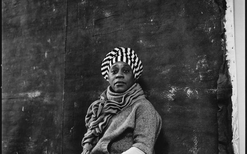 Nicholas Sinclair, Sonia Boyce, London 2013 from 'Artists', A Portfolio of Photographs by Nichaols Sinclair' (2013)