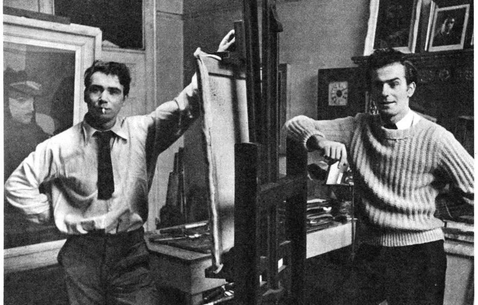 Robert Colquhoun and Robert MacBryde in their studio